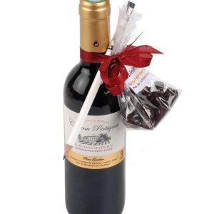 Coffret cadeau vin Bordeaux Pertignas