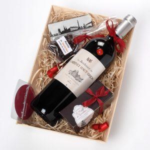 Coffret gourmand Vin haut-brion