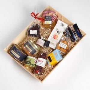Grand coffret cadeau gourmand spécialités bordelaises