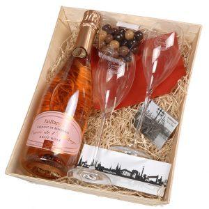 Coffret cadeau créamnt de bordeaux rosé