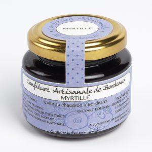 Confiture artisanale de Myrtille Bordeaux
