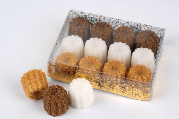 sucre forme canelé de bordeaux