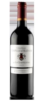 vin chateau chapelle d'alienor by la gaffeliere
