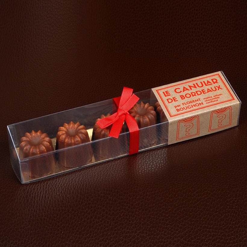 Chocolat canelé Florent bouchon