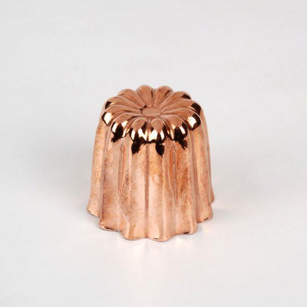 Petit moule à canelé cuivre 35 mm