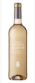 vin chateau chappelle d'alienor rosé bordeaux